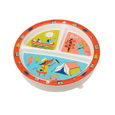 ORE Divided Suction Plate Happy Camper