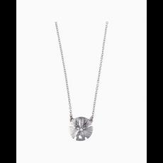 """Spartina 449 Sea La Vie SLV Necklace 18"""" Sea Wonders/Sand Dollar/Silver"""