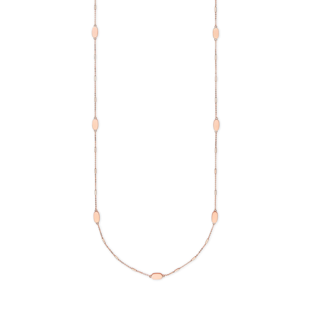 Kendra Scott Kendra Scott Franklin Necklace in Rose Gold