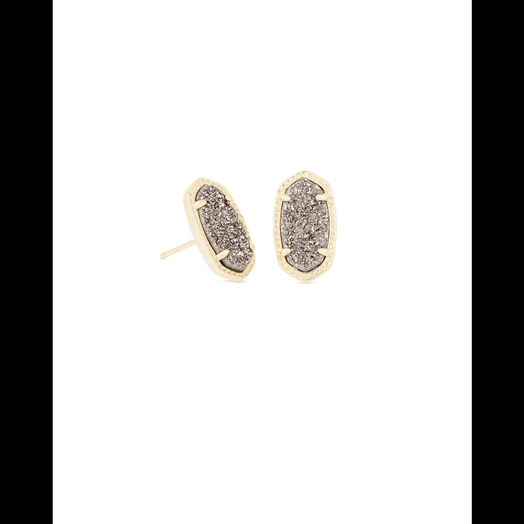 Kendra Scott Kendra Scott Ellie Earrings in  Gold & Platinum Drusy