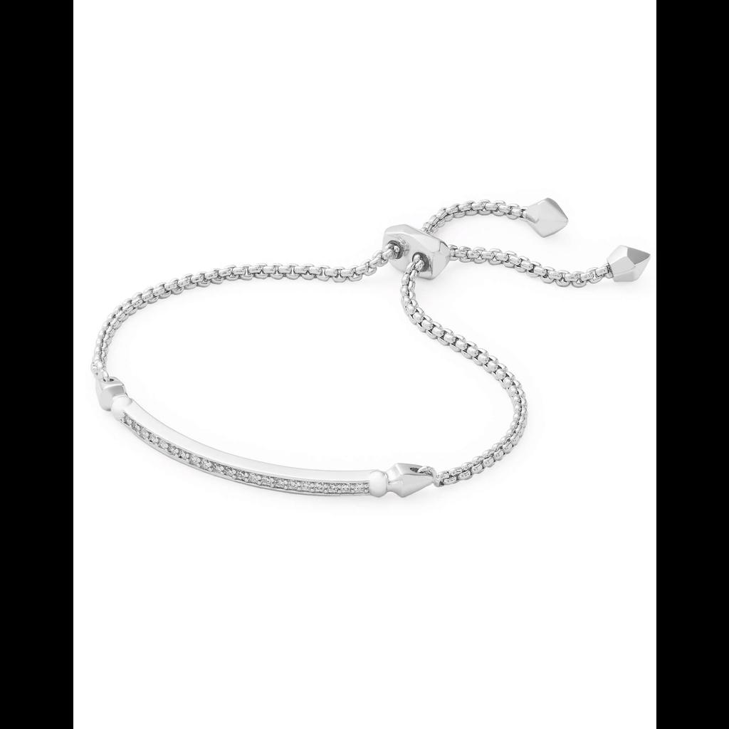 Kendra Scott Kendra Scott Ott Bracelet in Silver  White CZ