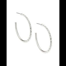 Kendra Scott Kendra Scott Veronica Earrings in Silver Iridescent Crystal