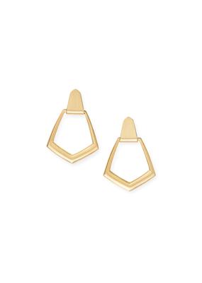 Kendra Scott Kendra Scott Paxton Earrings Gold Metal