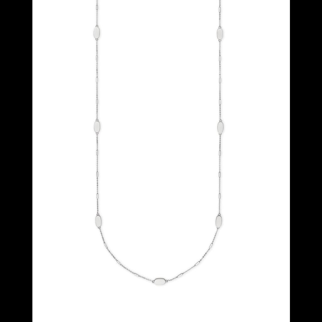 Kendra Scott Kendra Scott Franklin Necklace in Silver