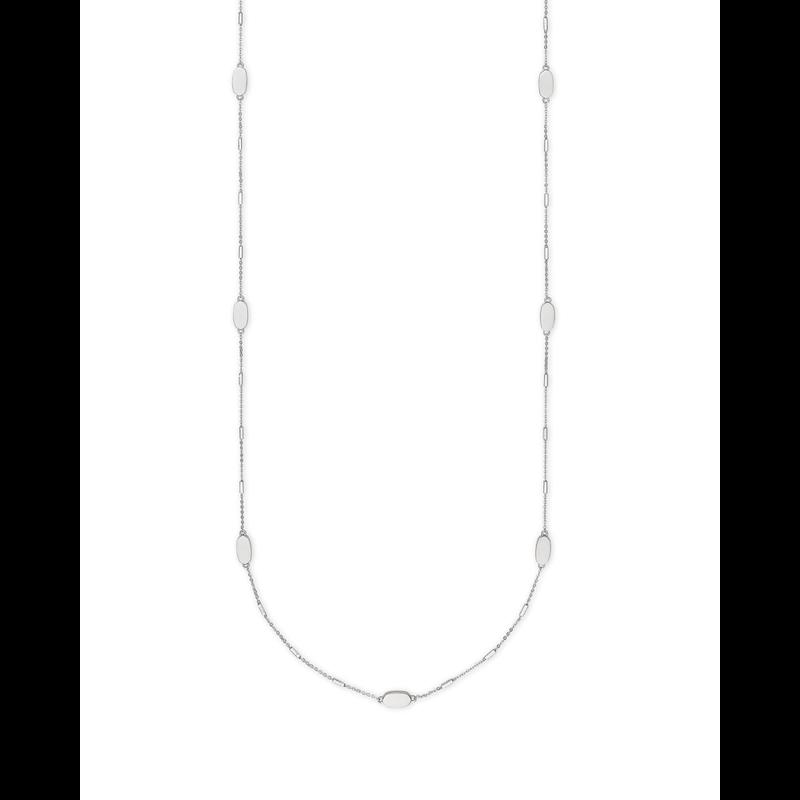 Kendra Scott Franklin Necklace in Silver