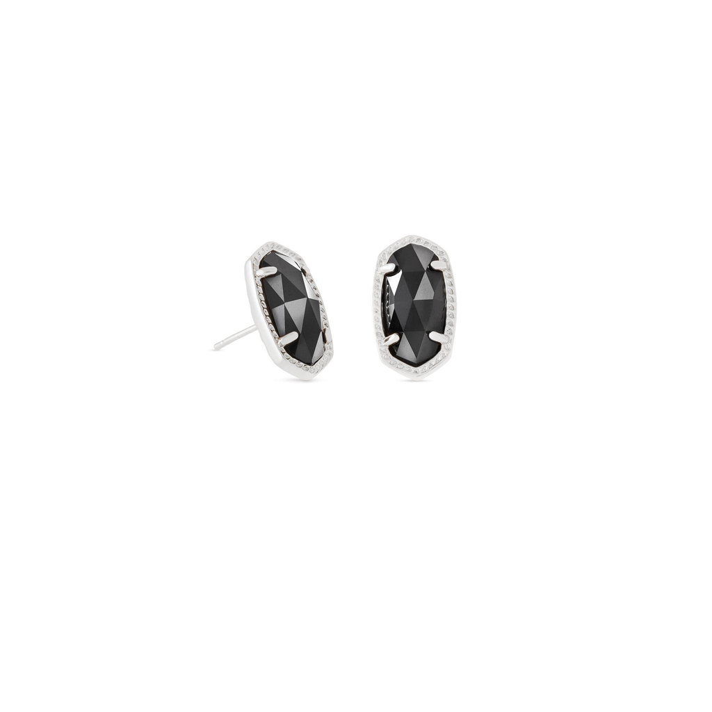 Kendra Scott Kendra Scott Ellie Earrings in Silver & Black