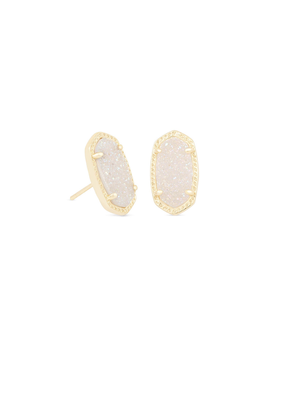 Kendra Scott Ellie Gold & Iridescent Drusy Earrings