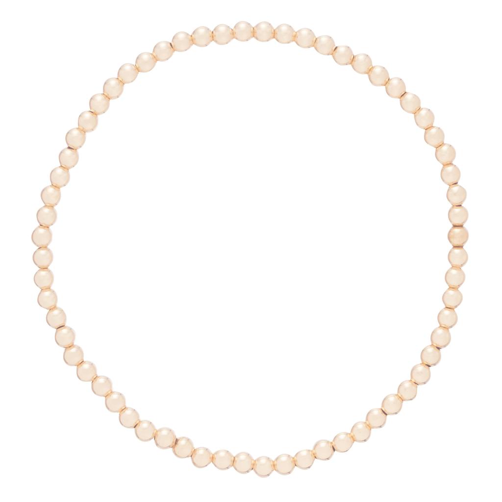 enewton enewton Classic Gold 3mm Bead Bracelet