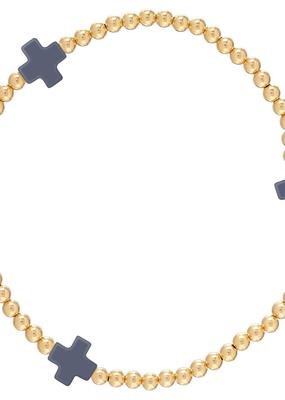 enewton enewton Signature Navy Cross Bracelet