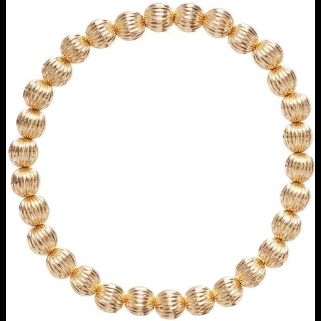 enewton Dignity Gold 6mm Bead Bracelet