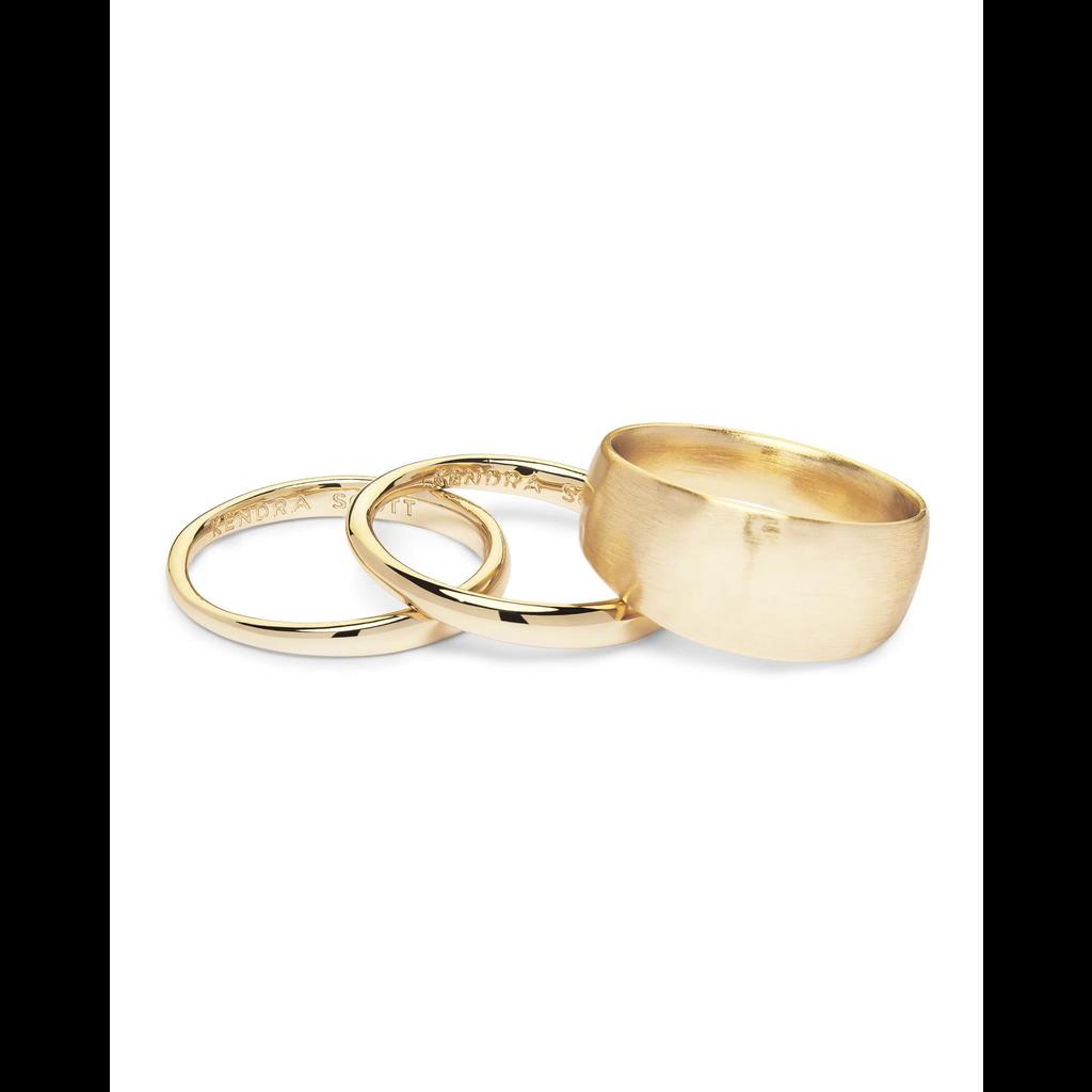 Kendra Scott Kendra Scott Terra Ring Set in Gold - Size 8