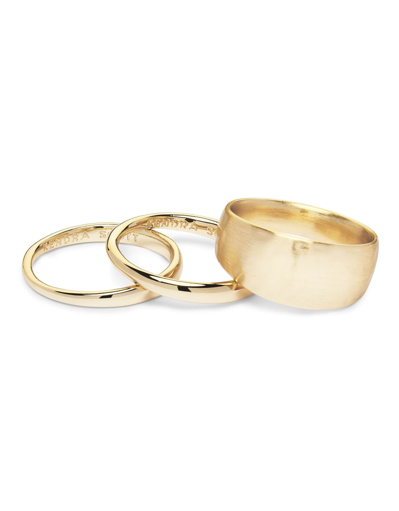 Kendra Scott Kendra Scott Terra Ring Gold Metal 8
