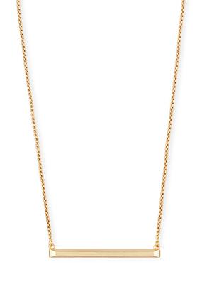 Kendra Scott Kendra Scott Kelsey Necklace Gold Metal