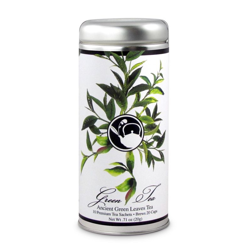 The Tea Can Company Ancient Green Leaves Tea