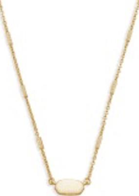 Kendra Scott Kendra Scott Fern Necklace Gold Metal