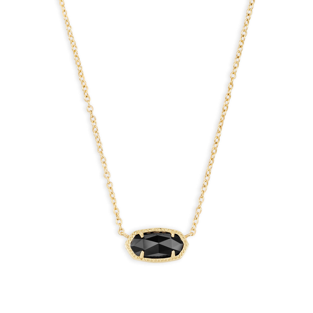 Kendra Scott Kendra Scott Elisa Necklace in Gold & Black