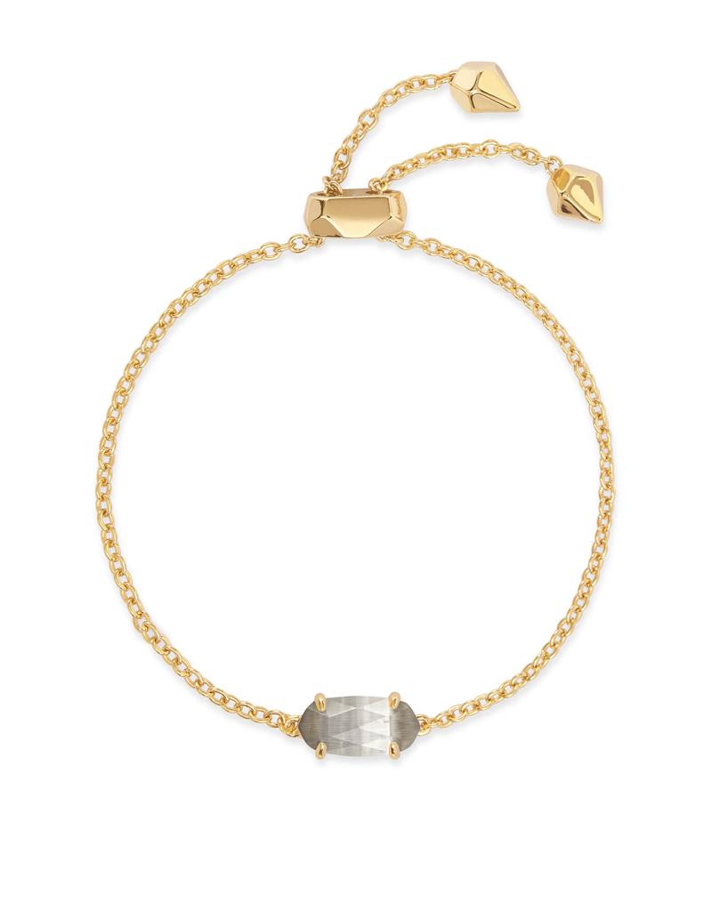 Kendra Scott Kendra Scott Everlyne Bracelet Gold Slate Cats Eye