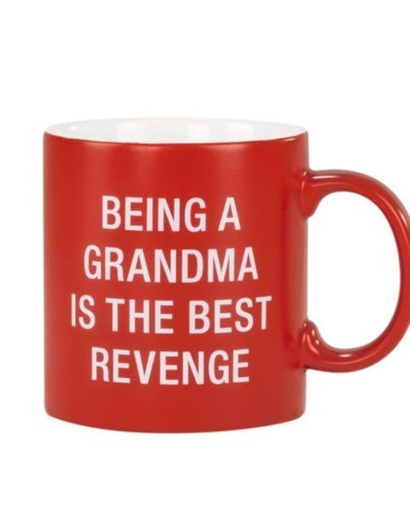About Face Designs Being a Grandma Mug
