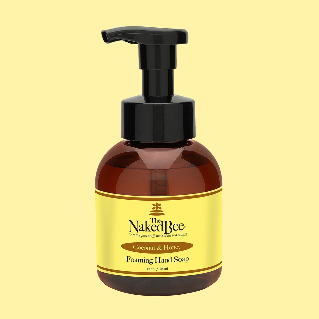 The Naked Bee The Naked Bee Foaming Hand Soap  - Coconut & Honey