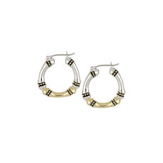 John Medeiros John Medeiros - Canias Original Collection Medium Hoop Earrings