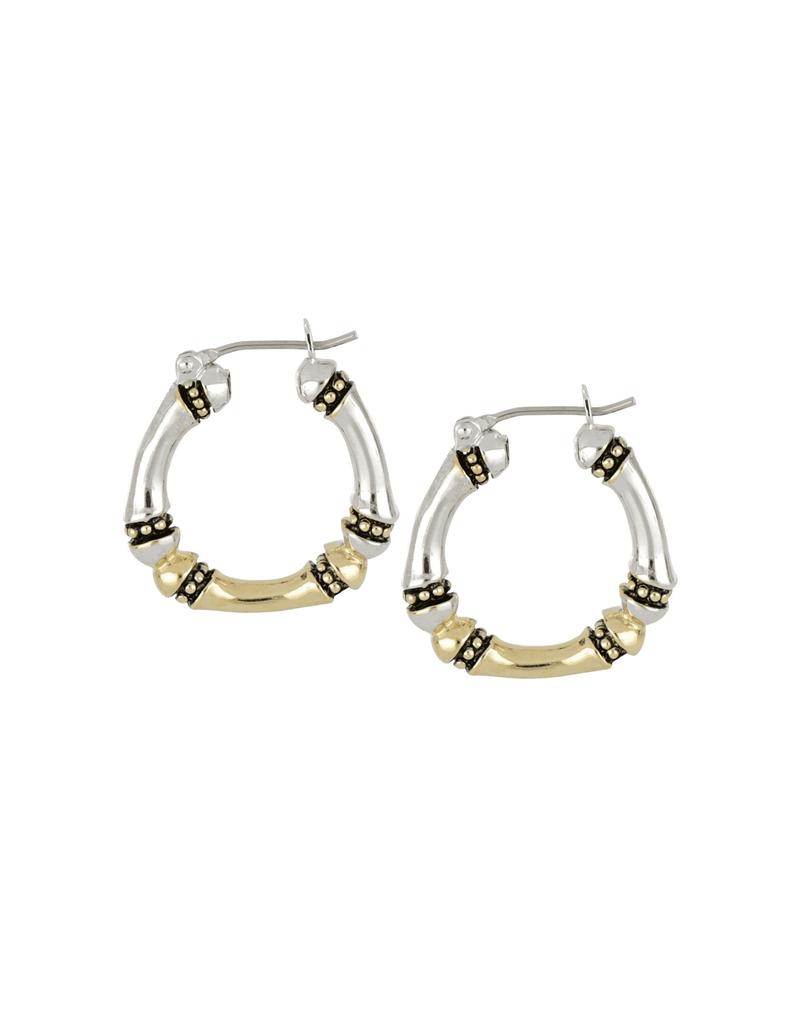 John Medeiros - Canias Medium Hoop Earrings