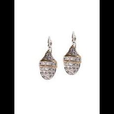John Medeiros John Medeiros - Pave Impression French Wire Clip Earrings