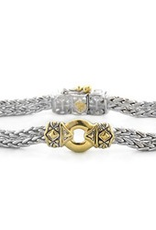 John Medeiros - Antiqua Gold Circle Bracelet