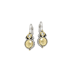 John Medeiros John Medeiros - Nouveau Collection Hammered Series French Wire Earrings
