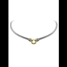 John Medeiros John Medeiros - Antiqua Gold Circle Double Strand Necklace