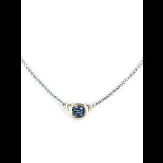 John Medeiros - Nouveau Single Strand Necklace/Aqua