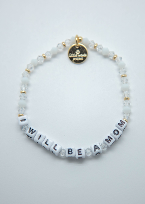 Little Words Project I Will Be A Mom Bracelet