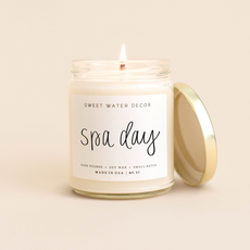 Sweet Water Decor Spa Day Soy Candle