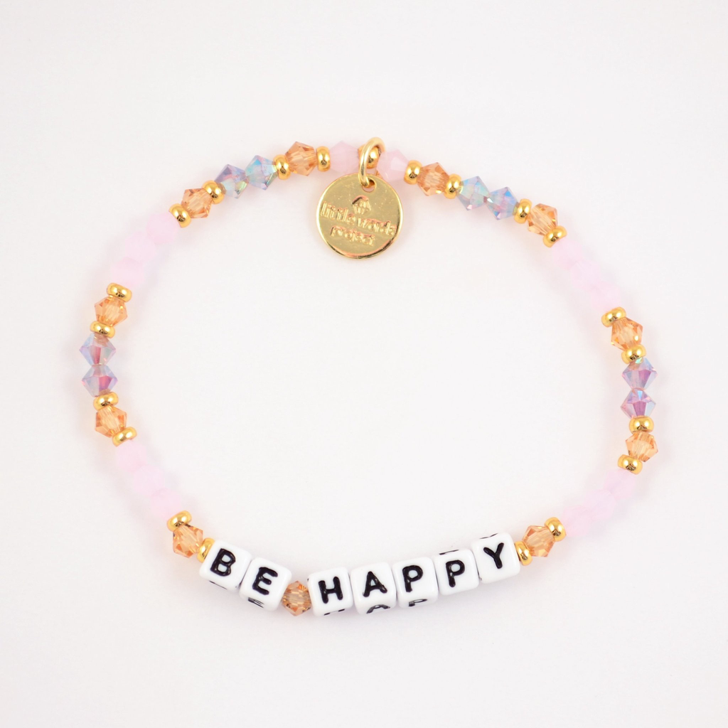 Little Words Project Be Happy Bracelet