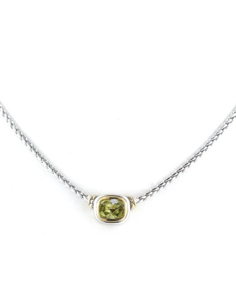 John Medeiros - Nouveau Single Strand Necklace Peridot