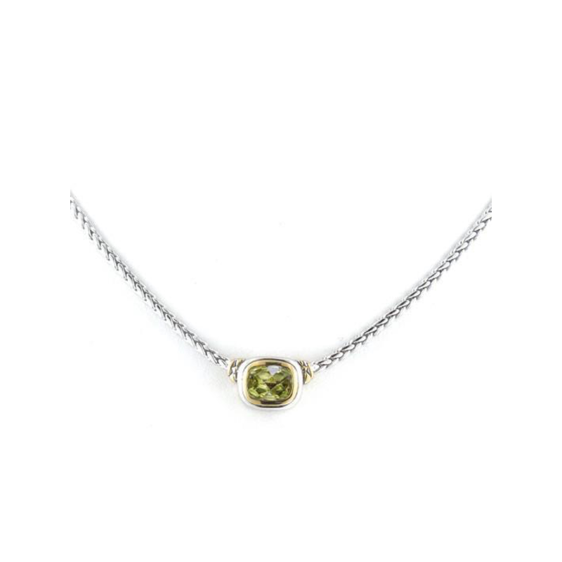 John Medeiros Nouveau Single Strand Necklace - Peridot