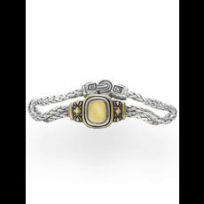 "John Medeiros John Medeiros - Nouveau Gold Dome 6.5"" Double Strand Bracelet"