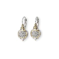 John Medeiros - Nouveau CZ French Wire Earrings
