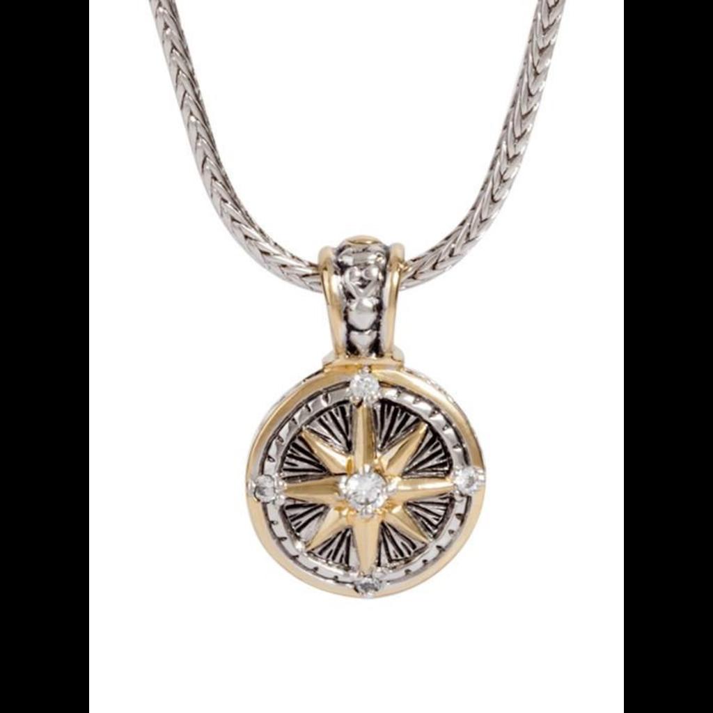 John Medeiros John Medeiros - Little Inspirations Compass Inspiration with Chain