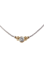 John Medeiros - Beijos 6mm CZ Single Stone Necklace