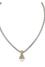 John Medeiros -12mm Pearl on 16in Chain