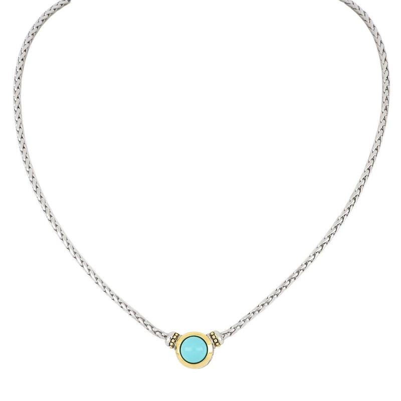John Medeiros Perola Turquoise Necklace