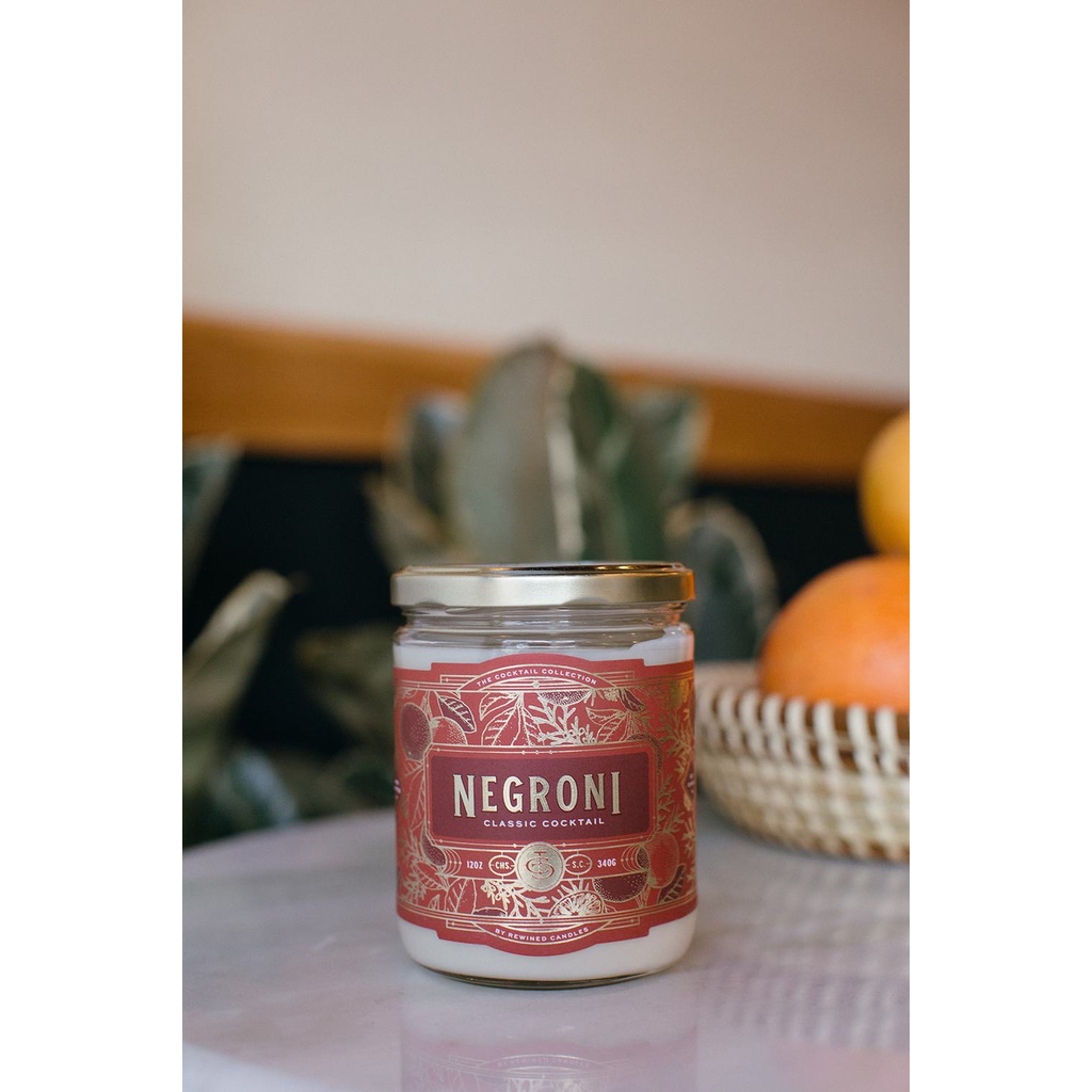 Rewined Candles Negroni Candle