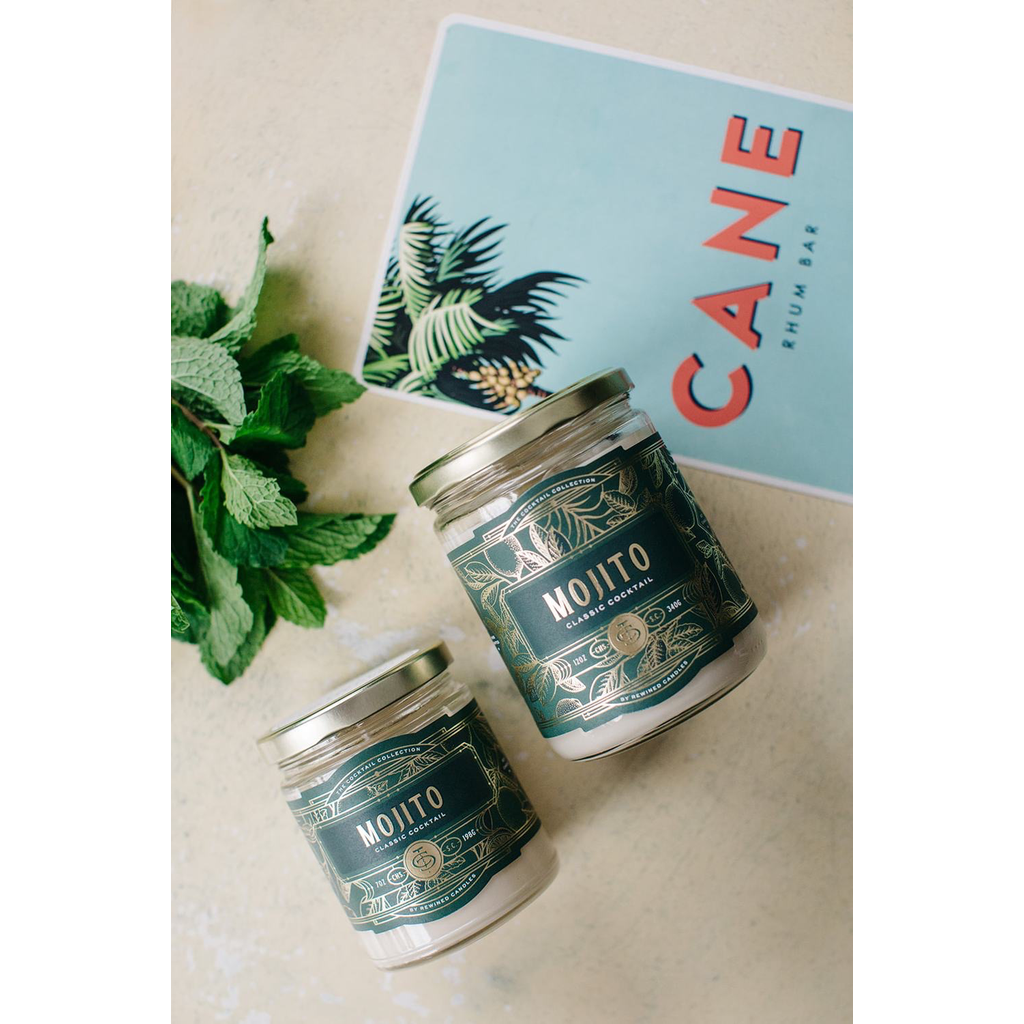 Rewined Candles Mojito Candle