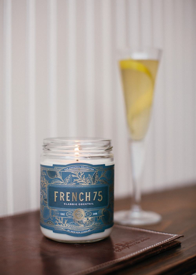 Rewined Candles French 75 Candle