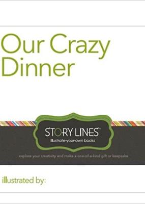 Compendium Our Crazy Dinner Activity Book