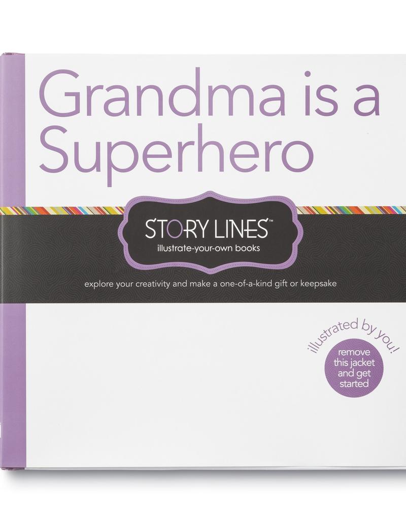 Compendium Grandma is a Superhero Activity Book