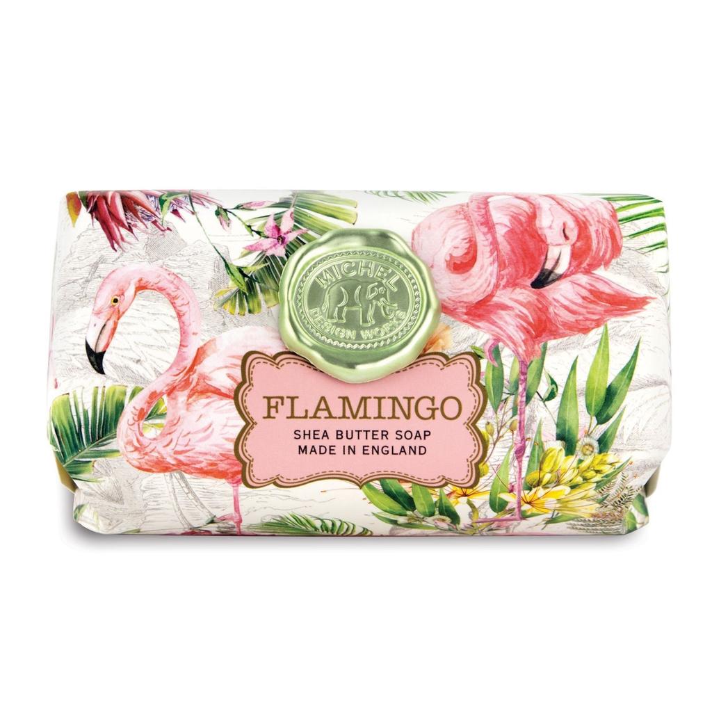 Michel Design Works - Flamingo Large Bath Soap Bar