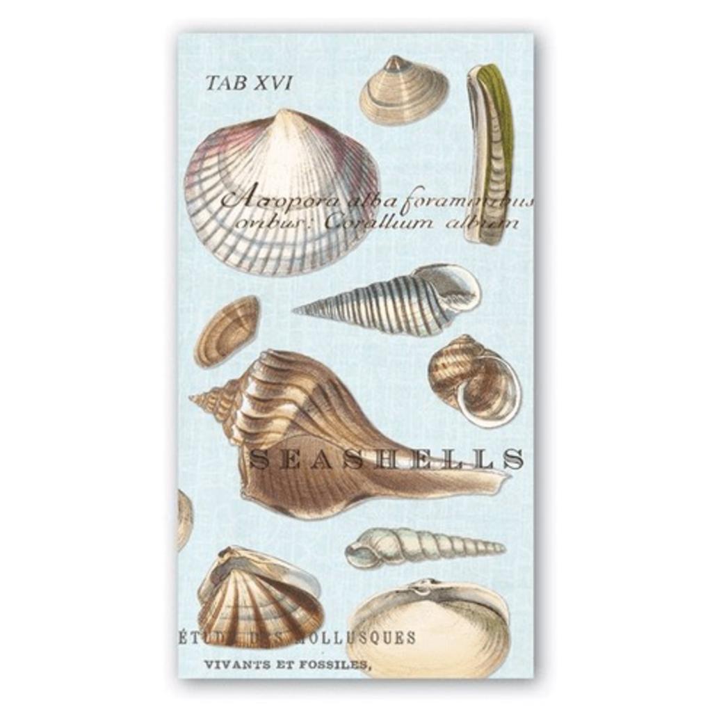 Michel Design Works - Seashells Hostess Napkins