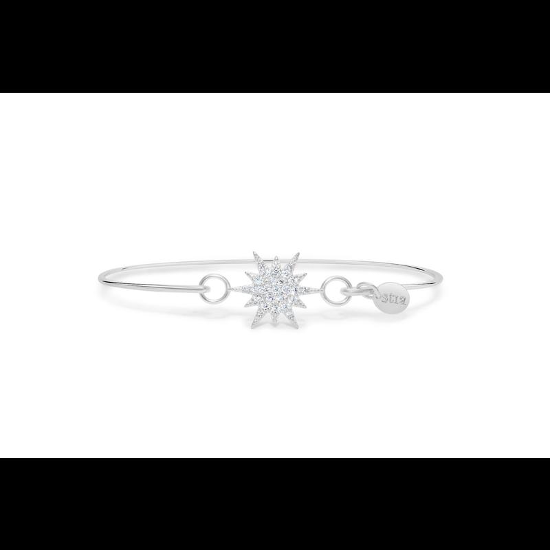 Stia Stia Pave Icon Bracelet/Starburst