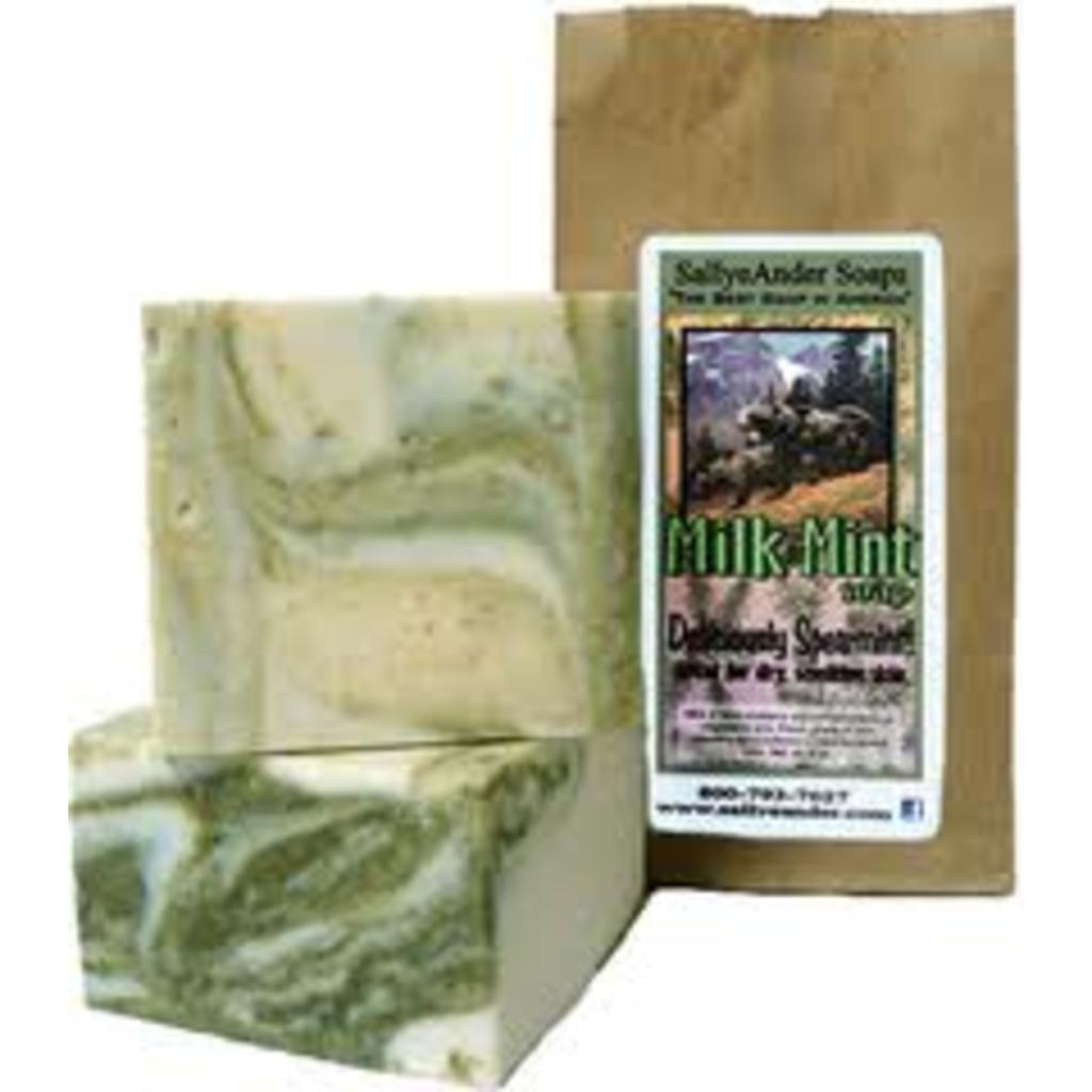SallyeAnder Milk& Mint Soap